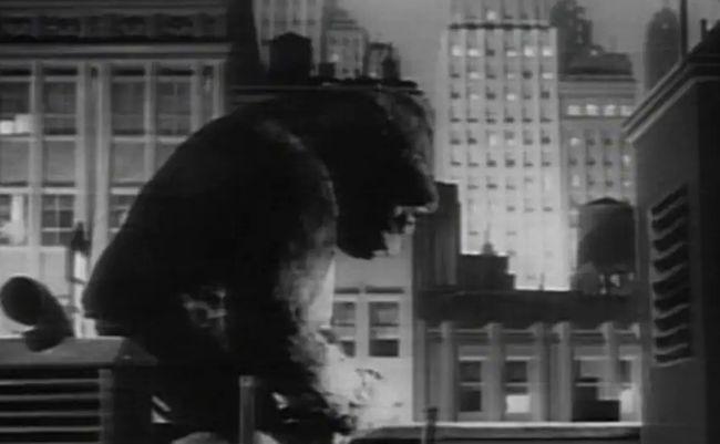 1933年のキング・コング