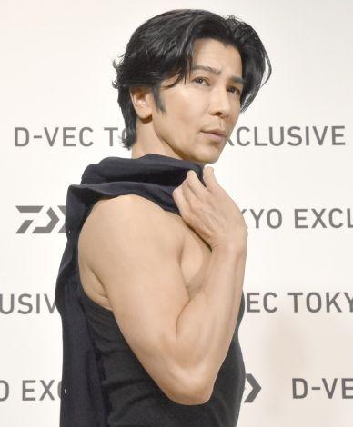武田真治と筋肉