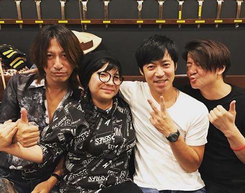平川美香とGLAY、東MAX