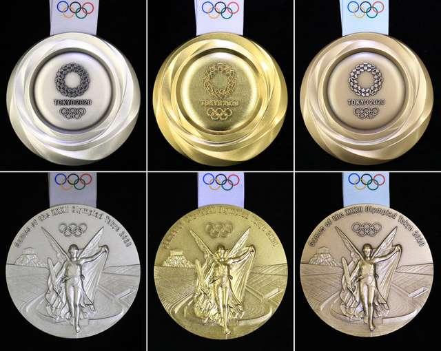 東京オリンピックメダルデザイン
