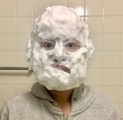 洗顔ものまね
