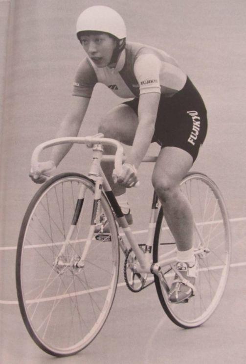 橋本聖子氏の自転車