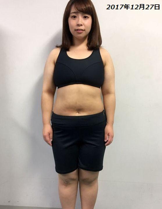 餅田コシヒカリ2017年体重