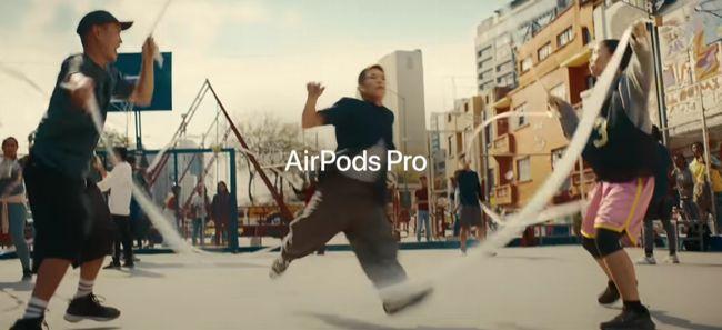 Apple AirPods Pro(エアーポッズプロ)CMのBGM