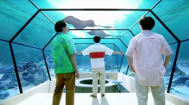 三ツ矢サイダーCMのロケ地の水族館はどこ?